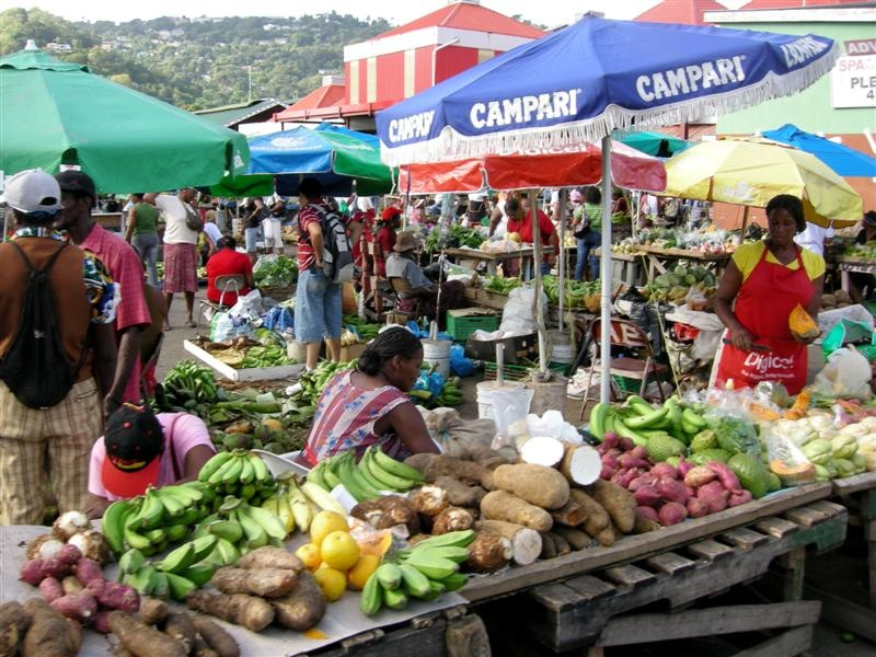 Castries-Saturday-Market