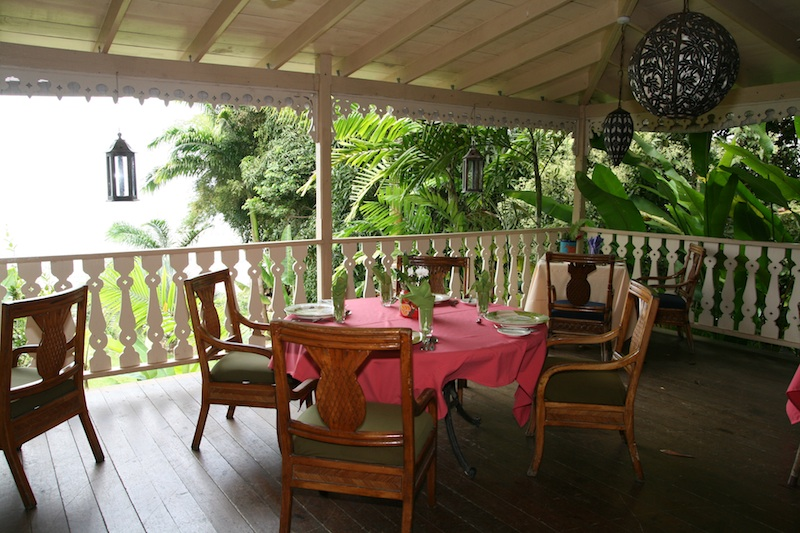 The Pink Plantation House Tables