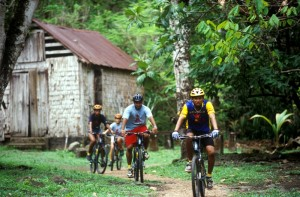 jungle biking